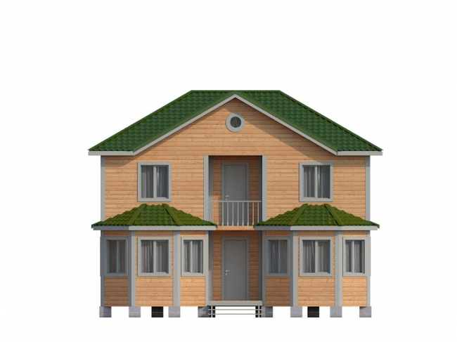 Дом из бруса-108