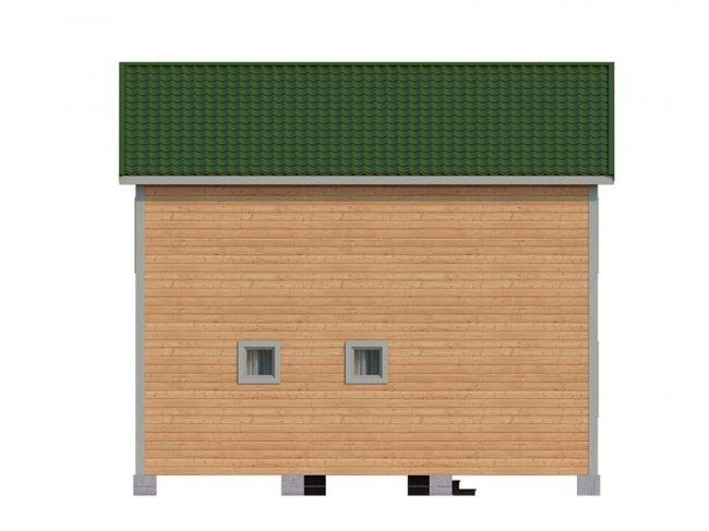 Дом из бруса-98