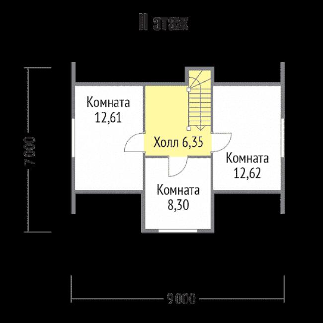 Дом из бруса-101