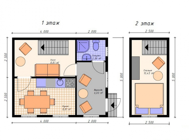 Дом из бруса-17