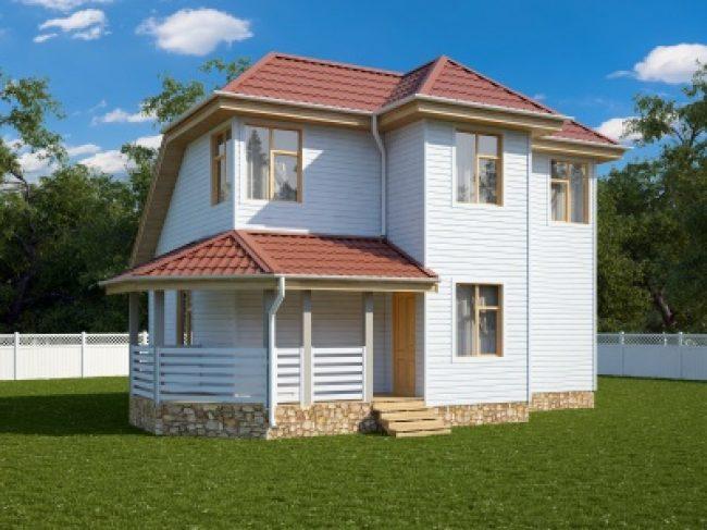 Дом из бруса-147