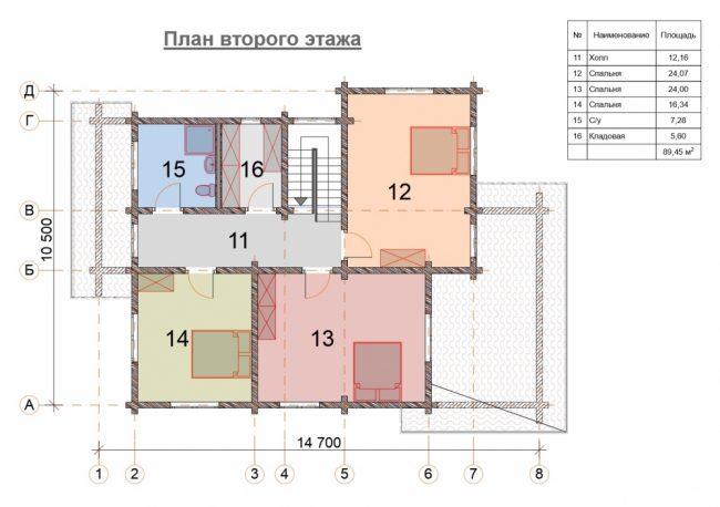 Дом из бруса-259