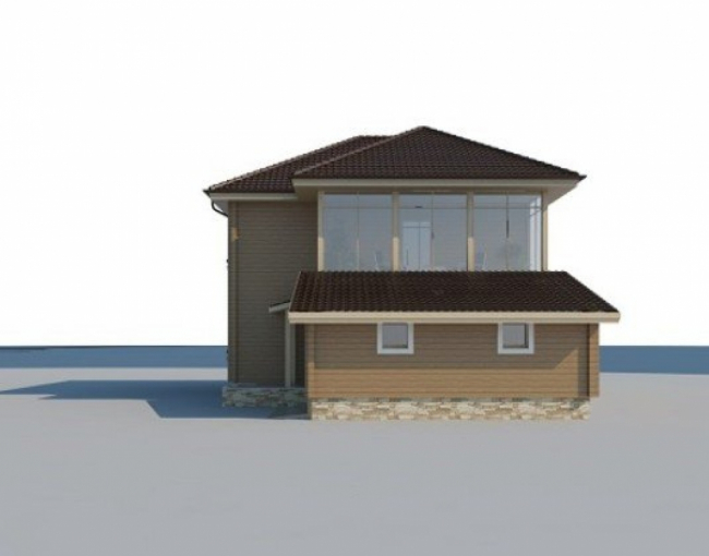 Дом из бруса-267
