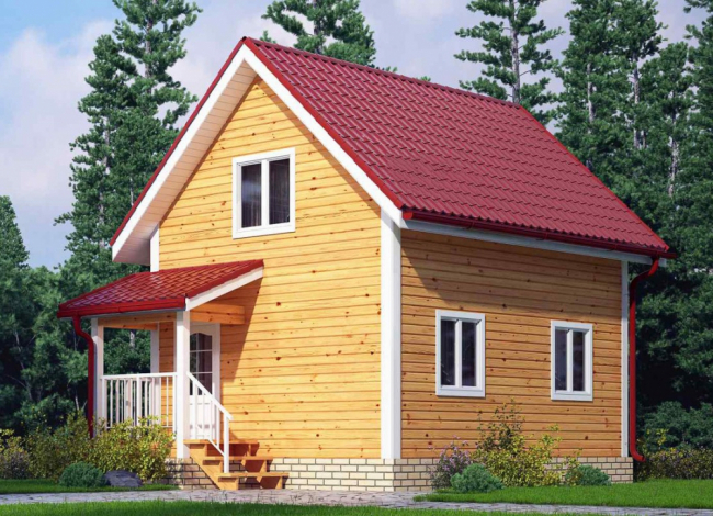 Дом из бруса-25