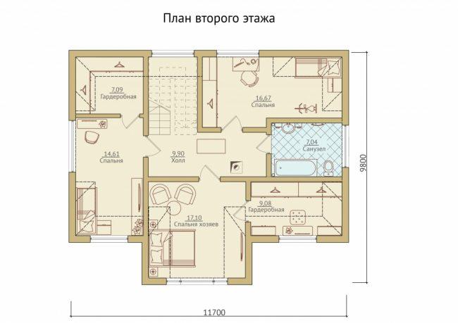 Дом из бруса-266