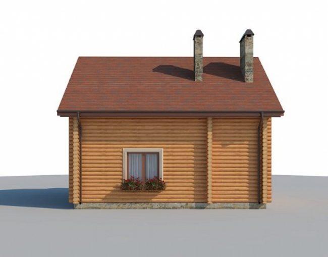 Дом из бревна-112