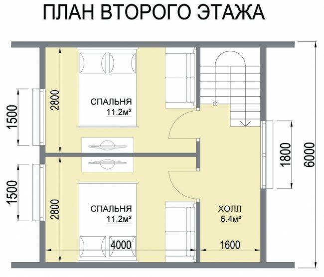 Дом из бревна-37