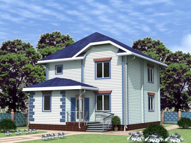 Дом из бруса-167