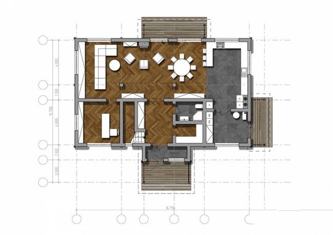 Дом из бруса-265