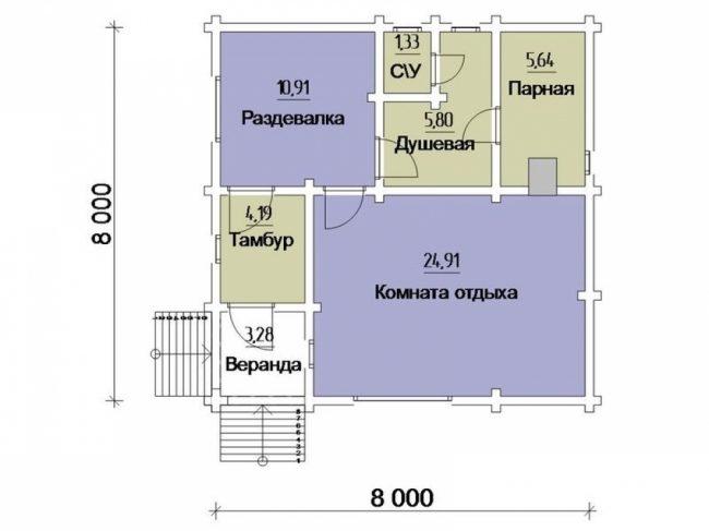 Проект ББ-165