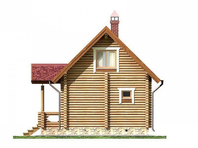 Дом из бревна-83