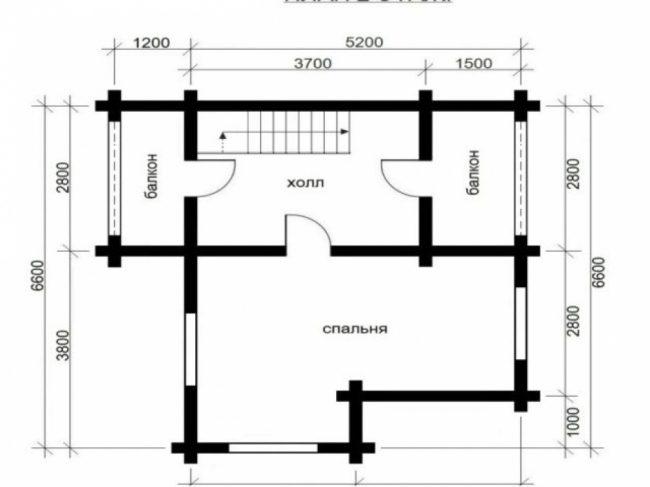 Дом из бревна-45