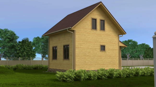 Дом из бруса-54