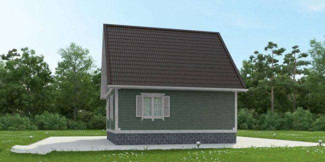 Дом из бруса-82