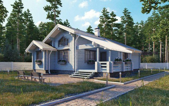 Дом из бруса-279
