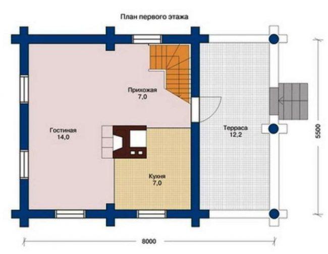 Дом из бревна-25
