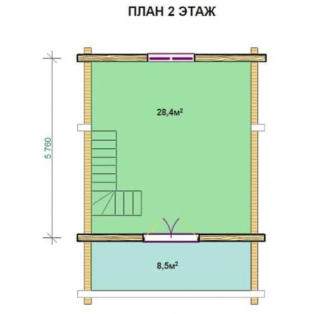 Сруб бани-159