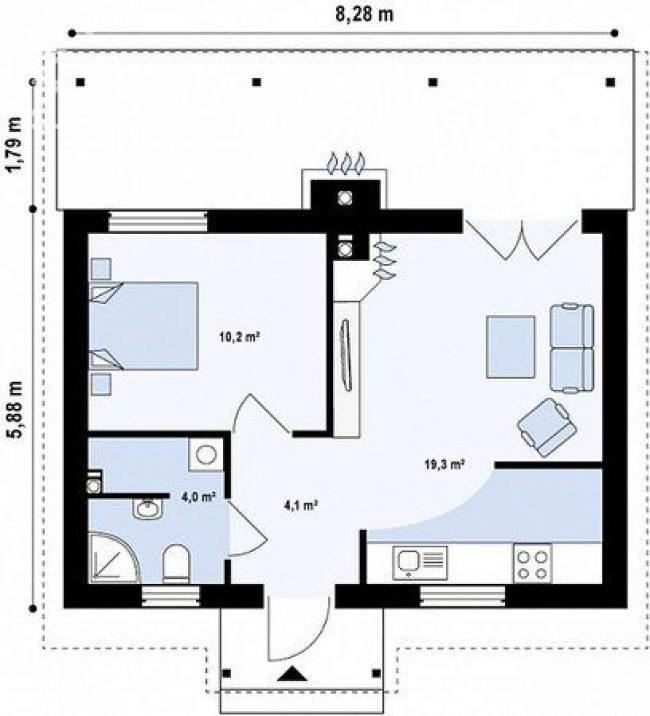 Дом из бруса-97