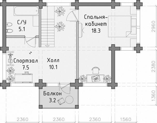 Дом из бруса-28