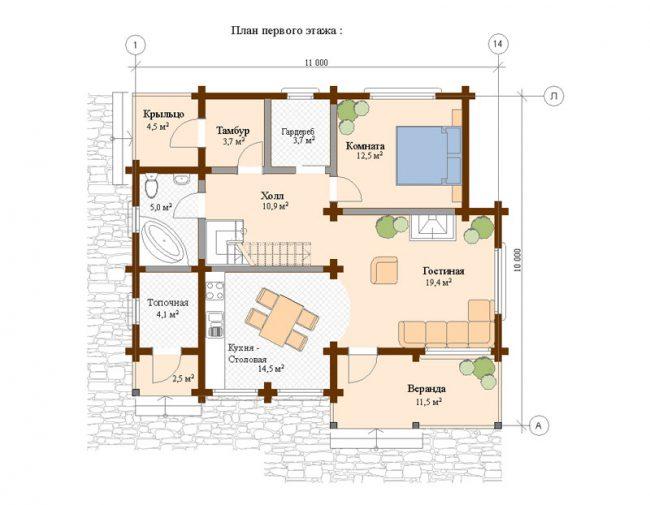 Дом из бруса-228