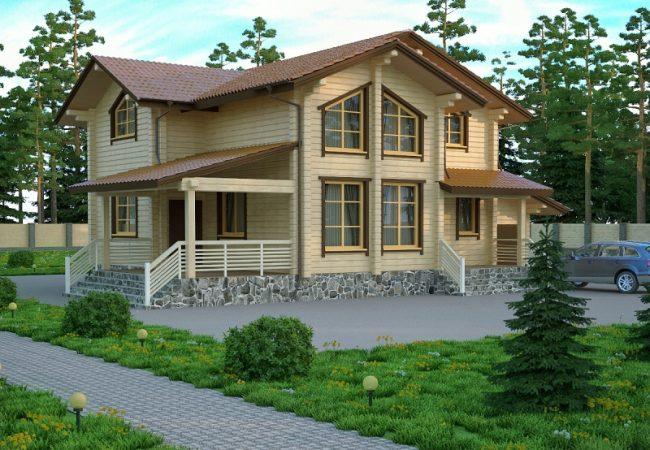 Дом из бруса-247