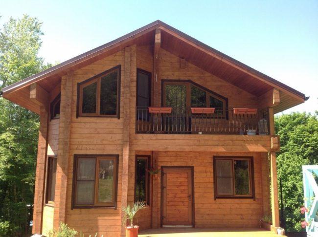 Дом из бруса-95