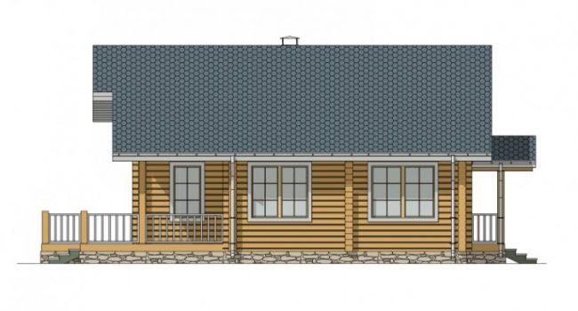 Дом из бруса-219