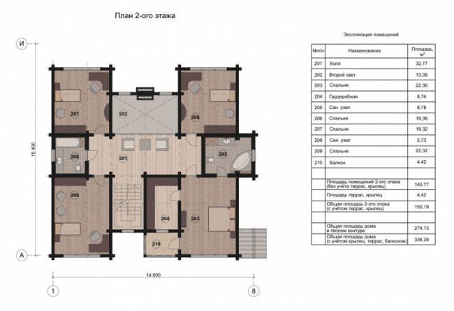 Дом из бруса-296