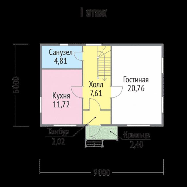 Дом из бруса-68