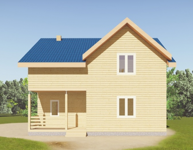 Дом из бруса-114