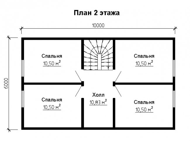 Дом из бруса-74