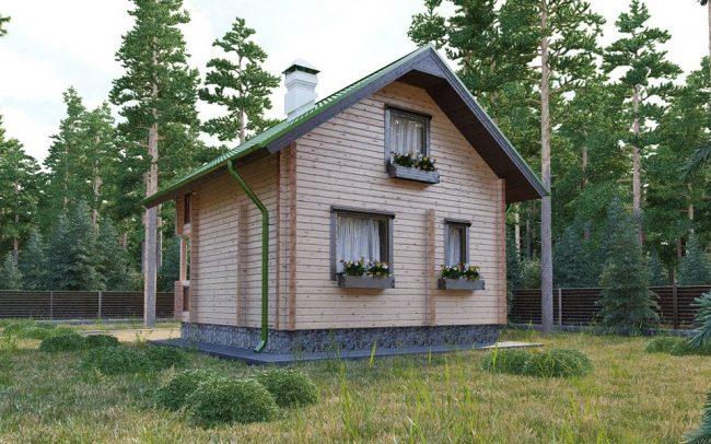 Дом из бруса-44