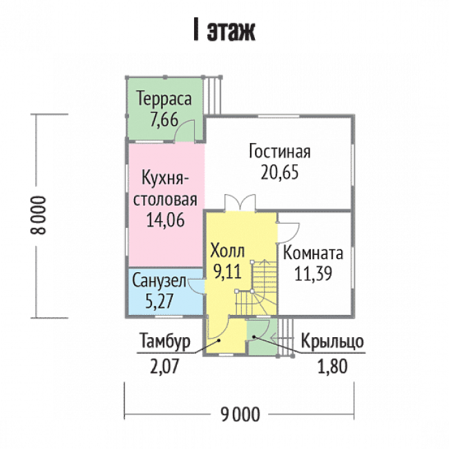 Дом из бруса-142