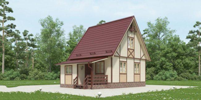 Дом из бруса-41