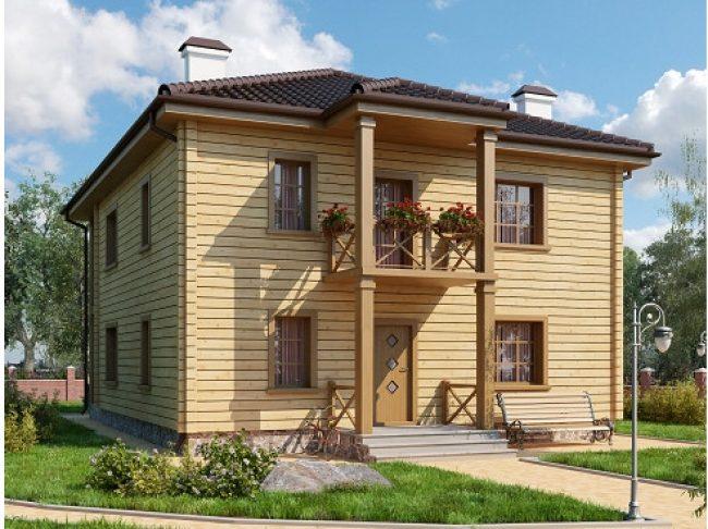 Дом из бруса-181