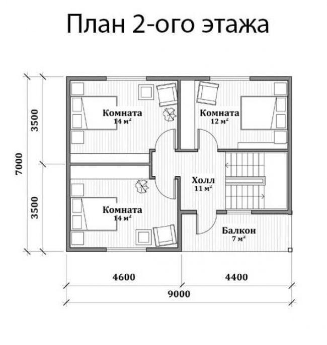 Дом из бруса-104