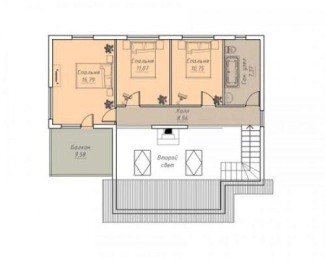 Дом из бруса-297