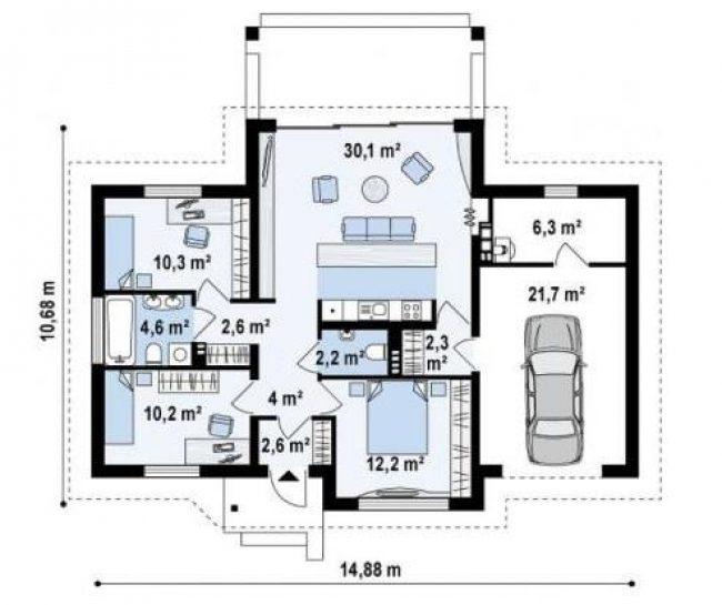 Дом из бруса-255