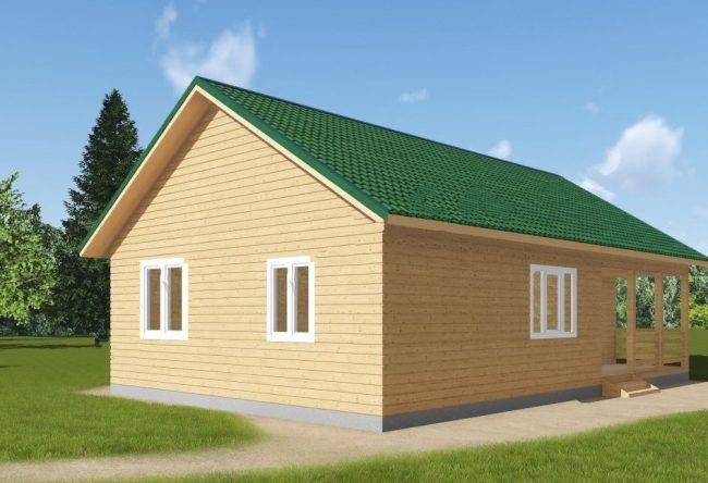 Дом из бруса-170