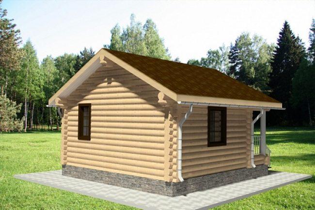 Дом из бревна-11