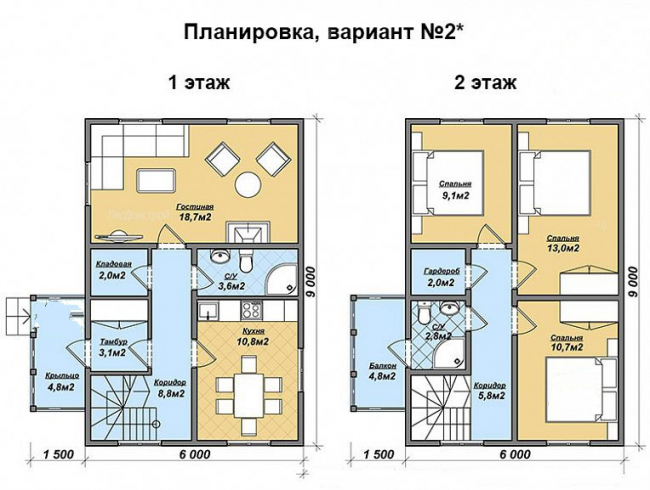 Дом из бруса-73