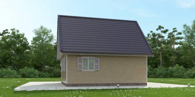 Дом из бруса-91