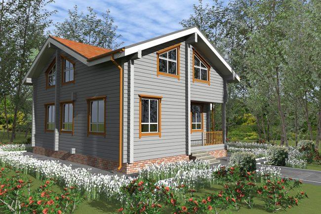Дом из бруса-274