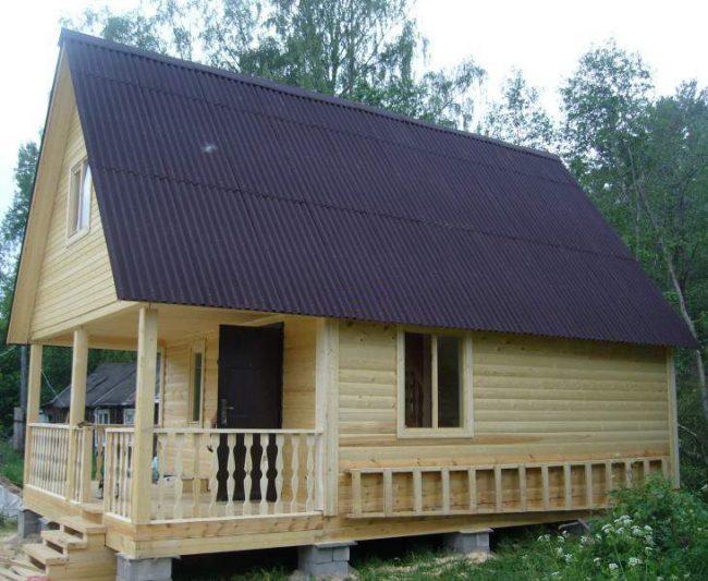 Дом из бруса-30