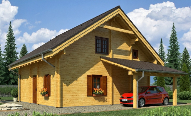 Дом из бруса-177