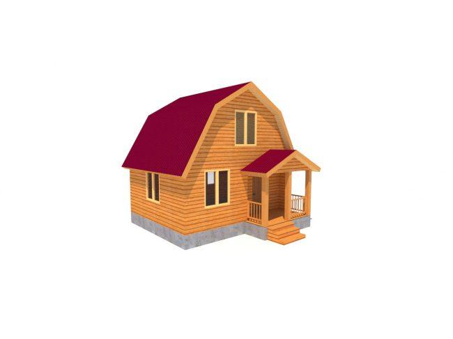 Дом из бруса-8