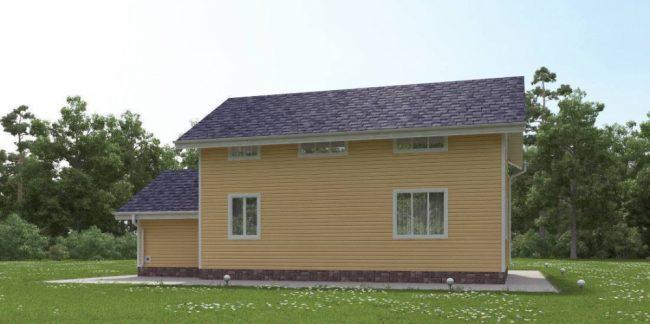 Дом из бруса-195
