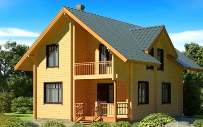 Дом из бруса-159