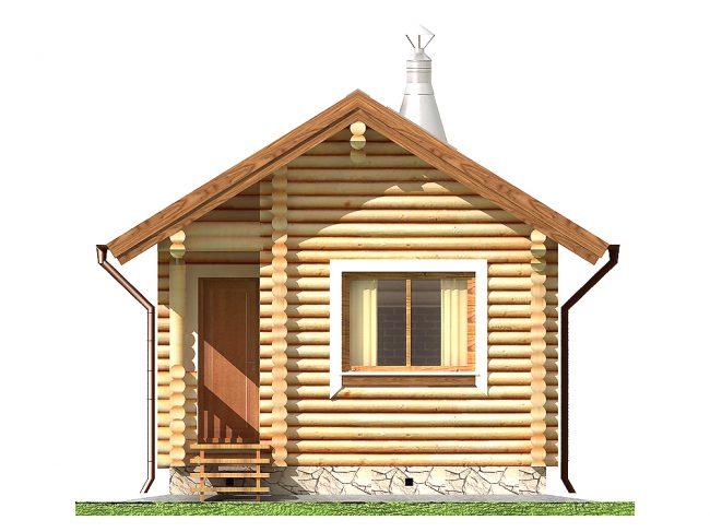 Дом из бревна-3