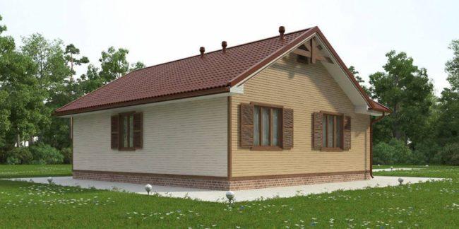 Дом из бруса-231